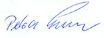 Unterschrift von Petra Enders